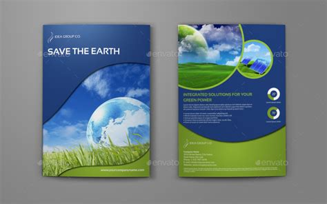brochure template environmental environment eco bi fold brochure template by owpictures