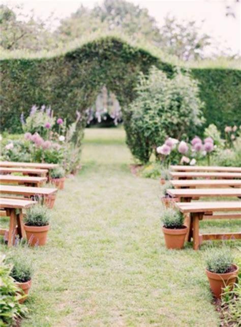 Wedding Aisle Garden by 69 Outdoor Wedding Aisle Decor Ideas Happywedd