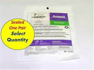 ansell encore sterile powder free 8516 ansell derma prene ultra powder free neoprene