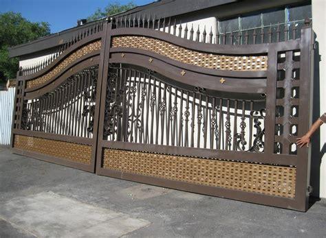 Wrought Iron Garden Trellis Wrought Iron Driveway Gates Designs For Iron Fence
