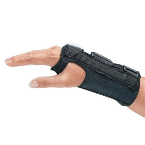 comfort cool brace comfort cool firm d ring wrist splints opc health