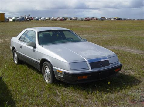87 Chrysler Lebaron by 1987 Chrysler Lebaron 2dr Sedan Ref597