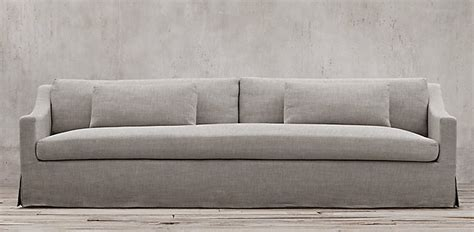 restoration hardware fabric sofas sofa collections rh
