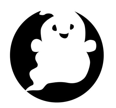 printable pumpkin stencils ghost 16 best pumpkin carving ideas images on pinterest