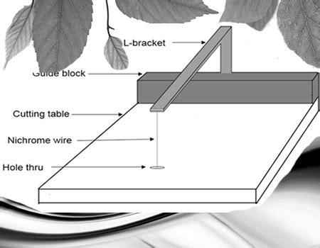 Pemotong Gabus cara membuat alat pemotong gabus atau styrofoam