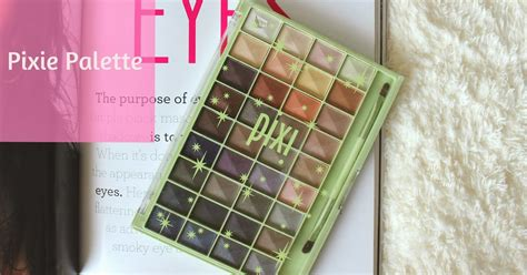 Eyeshadow Pixy Palette s corner the pixie palette review