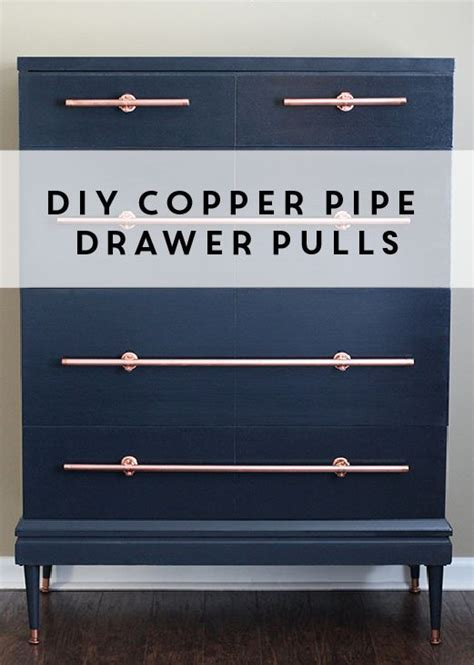 diy copper drawer pulls drawer pulls the o jays and drawers on
