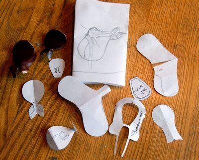 saddle pattern tutorial accessoires pour chevaux selle