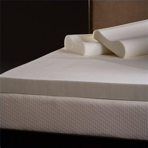 4 Inch Memory Foam Mattress Topper Comfort Magic 4 Inch Memory Foam Mattress Topper With Contour Pillows Reviews Advantages