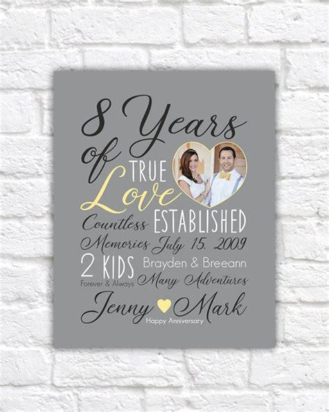 wedding anniversary gift choose any year 8th anniversary 8 years 10 years 15 year