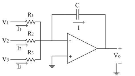 op integrator circuit exle summing integrator electronics tutorial