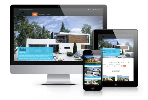 os real estate free joomla template buy sell property