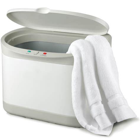 spa towel warmer the personal towel warmer hammacher schlemmer
