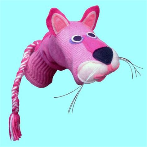 cat sock puppet sock puppets puppets and pink panthers on