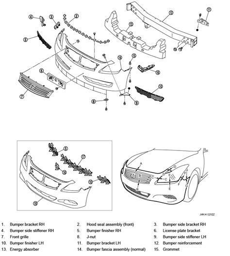 automotive repair manual 2009 infiniti g spare parts catalogs auto fender parts diagram wiring diagram and fuse box