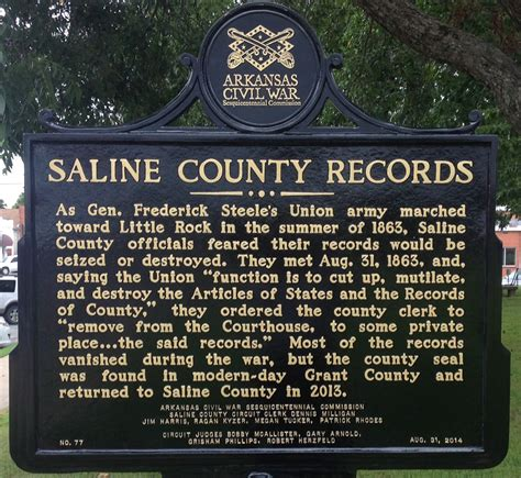 Saline County Records Saline County Records
