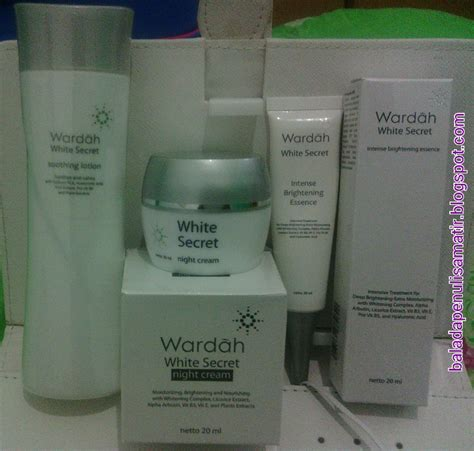 Wardah Secret White talks wardah white secret and