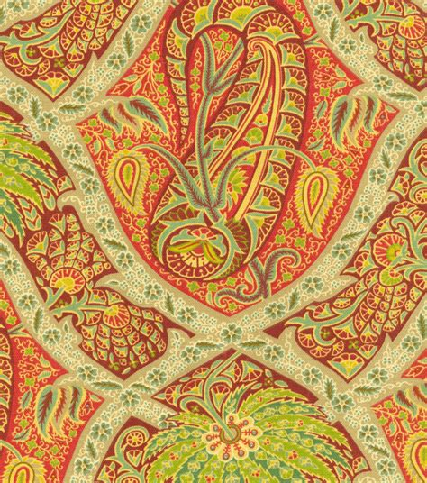 home decor print fabric bahama polynesian paisley