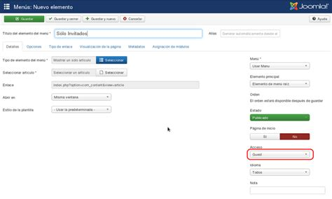 joomla acl tutorial tutorial lista de control de acceso acl joomla