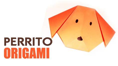 todo manualidades animales de origami origami de animales como hacer un perro de papel perro