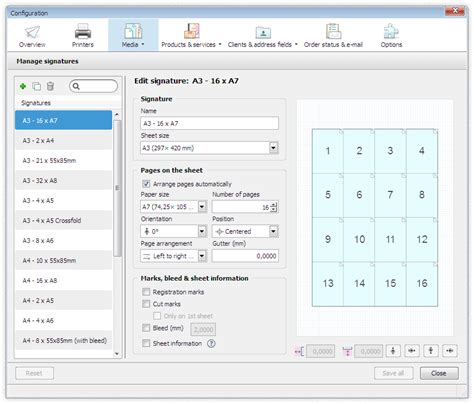 printing workflow print workflow configuration dots software