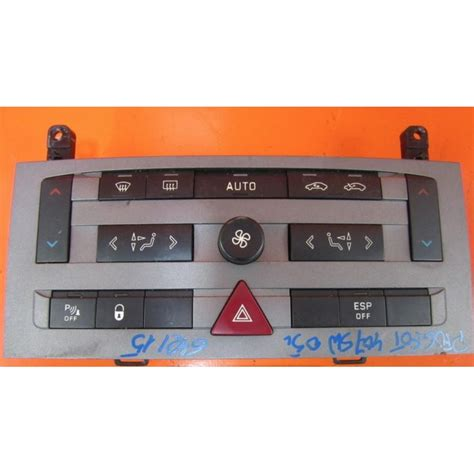 buy second hand peugeot peugeot 407 second hand ac controller regulator second
