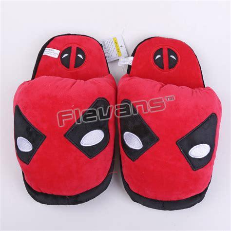 superman house shoes superhero batman superman deadpool spiderman plush shoes
