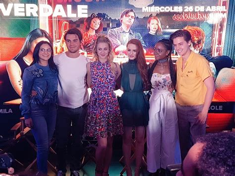 cast of the riverdale cast visits mexico city riverdale fans online