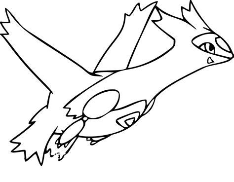 Coloriage Pokemon Latios Imprimer L L