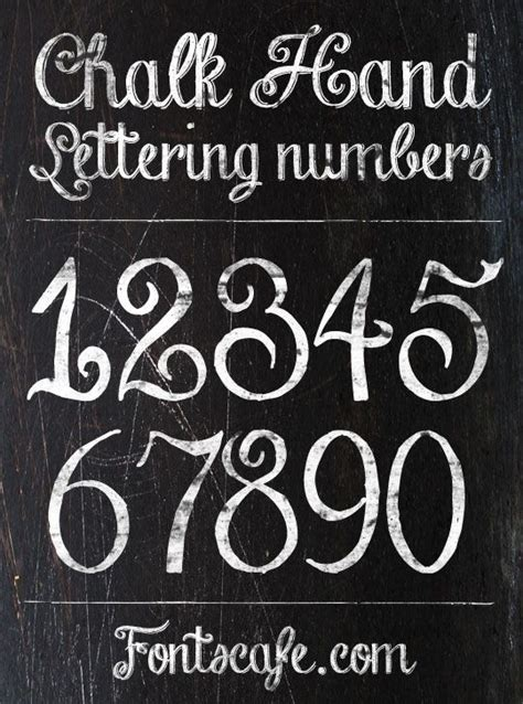 chalk pattern font 17 best ideas about number fonts on pinterest chalkboard