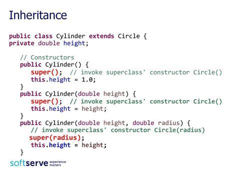 tutorial java inheritance java inheritance презентация онлайн