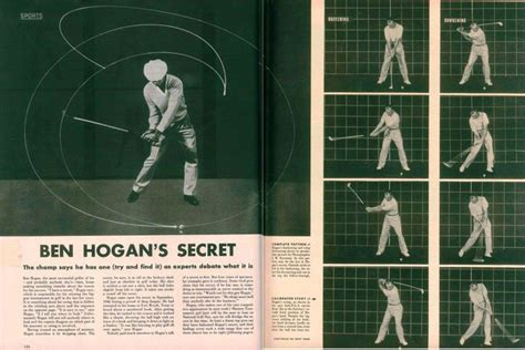 ben hogan swing theory 80 best images about ben hogan s the secret lab on