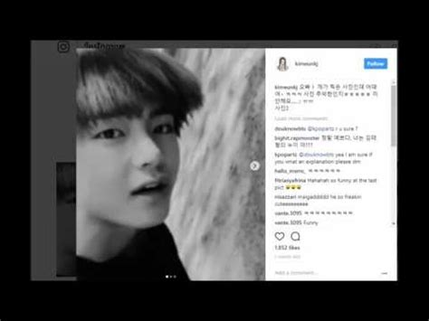 kim taehyung sister kim taehyung sister recently uploaded taetae picture on