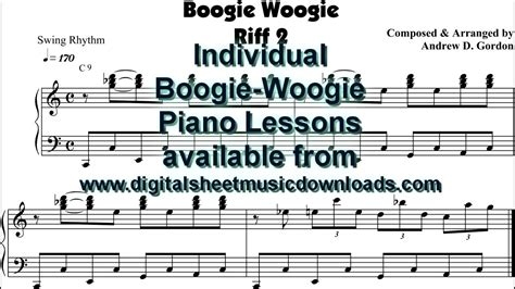 tutorial piano boogie woogie boogie woogie piano lessons youtube