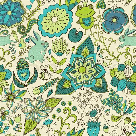 doodle romantis doodle floral texture copy that square to the