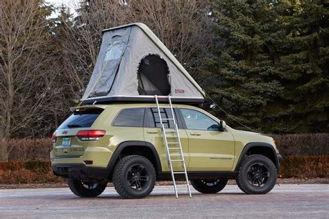 jeep pop up tent jeep reveals seven concepts for the moab safari