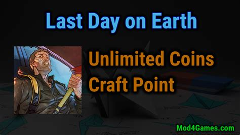 mod game last day on earth last day on earth survival mod apk unlimited coins