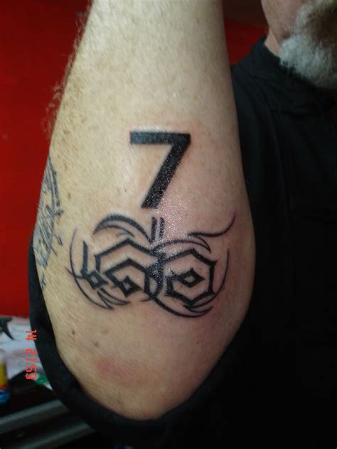 number tattoos the gallery for gt number designs