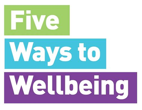 5 Ways To Prettify Your by Five Ways To Wellbeing Five Ways To Wellbeing
