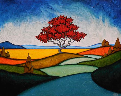 C O Painting by O Keeffe Redtree Times