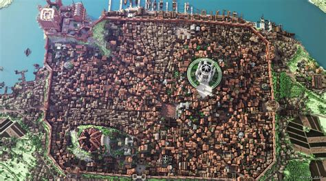king s landing game of thrones king s landing from game of thrones minecraft style