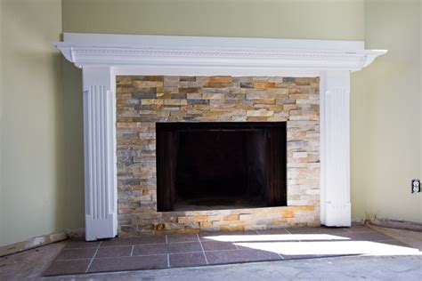 how to resurface a fireplace fireplace refaced