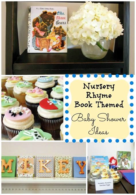 Themed Baby Shower Decorations by 72 Best Nursery Rhyme And Storybook Themed Baby Showers