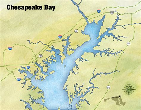 chesapeake bay map oyster handbook crab decks tiki bars of the chesapeake bay
