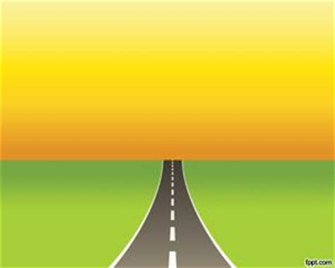 Road Powerpoint Template Microsoft Powerpoint Templates Road