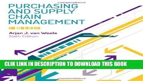Mba Purchasing And Supply Chain Management by Purchasing And Supply Chain Management Lysons Farrington Pdf