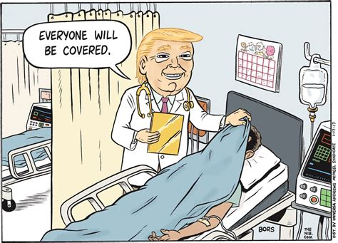Cartoon: Trump's health care plan