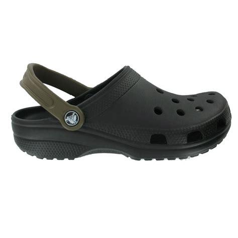 Original Crocs crocs classic mix shoe black chocolate the original croc
