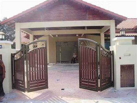 house entry gate design modern house fence design rendered brick modern house pebble beach entry gates new