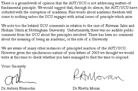 Resignation Letter Due To Bullying At Work Bullying Of Academics In Higher Education A Letter To Sally Hunt Blumsohn